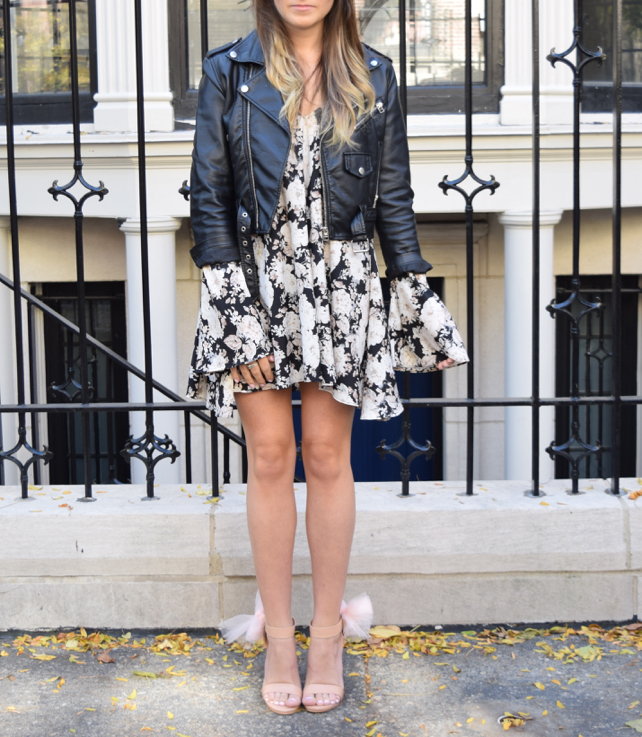 Leather & Floral