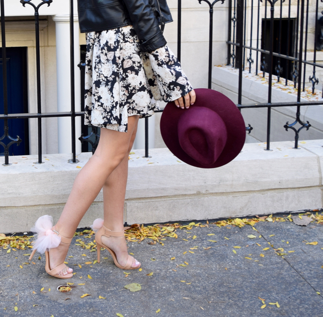 Burgundy & Pink Fall Fashion