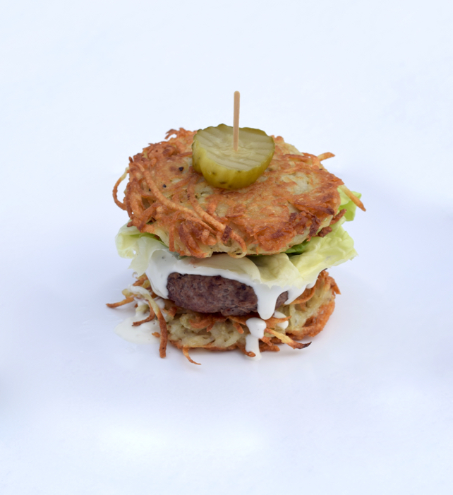 Latke Burger Recipe