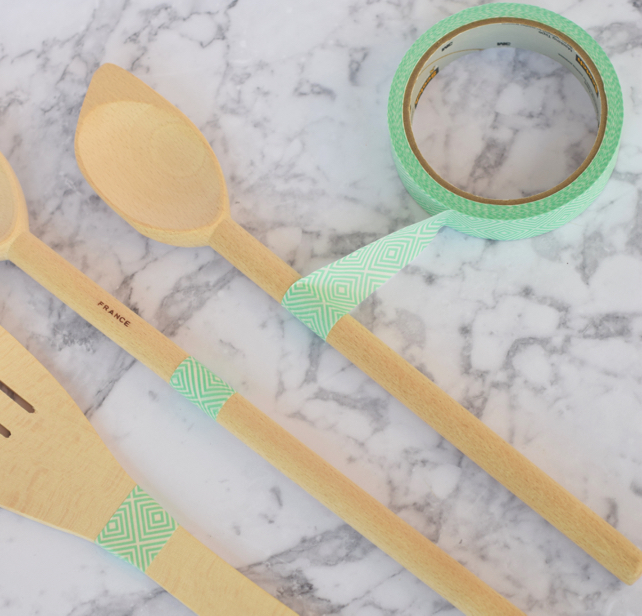 Ombre Utensil DIY