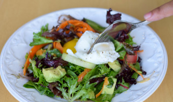 Poached Egg Salad Recipe