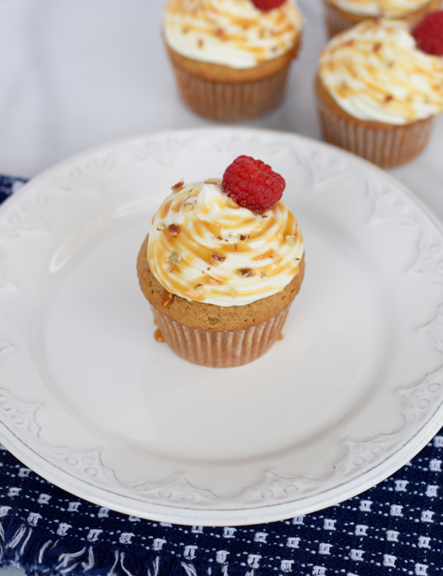 Sweet Potato & Cream Cheese Frosting Cupcake Recipe