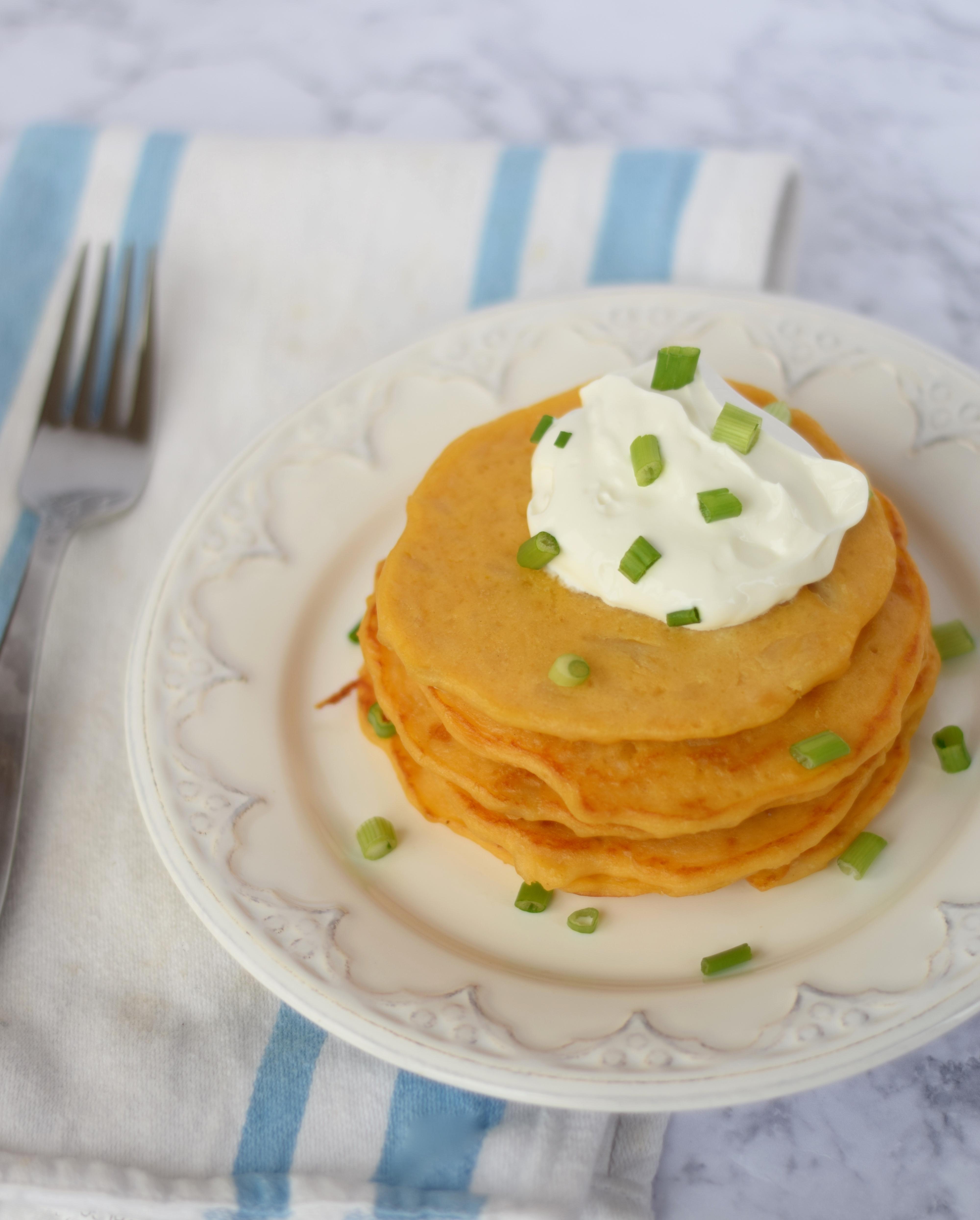 Mac & Cheese Pancakes Recipe