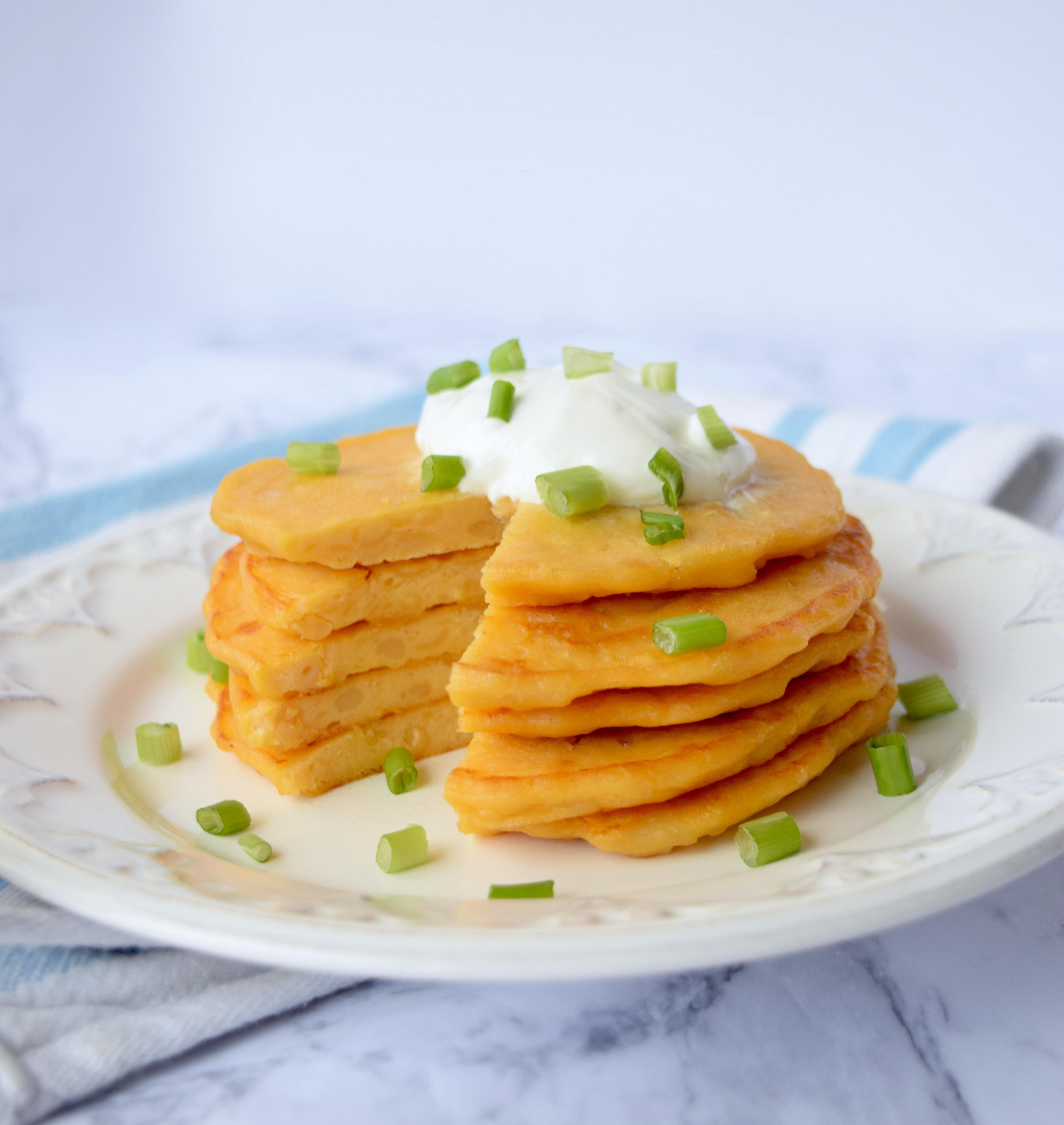 Mac & Cheese Pancake Recipe