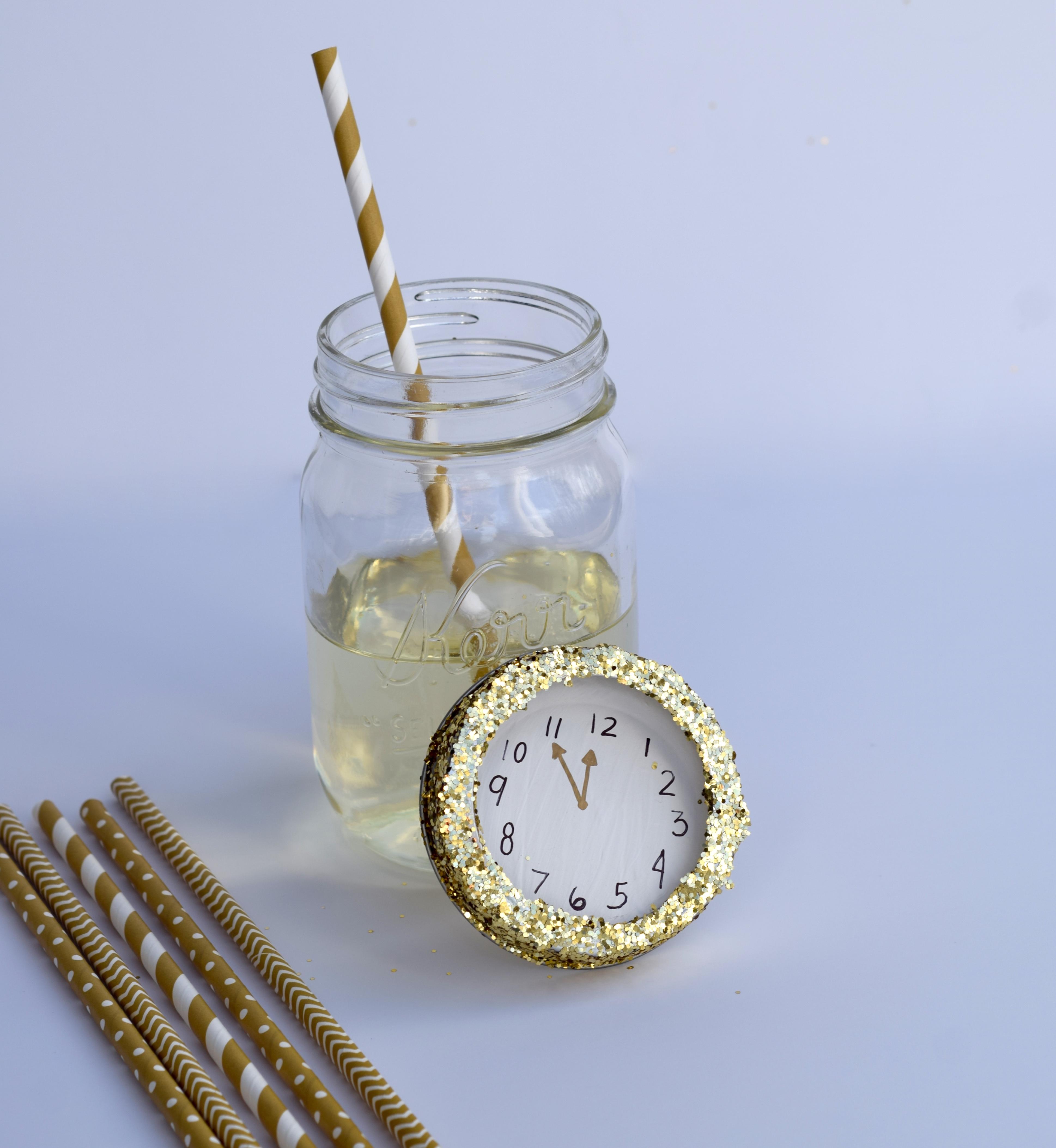 DIY NYE Champagne Glasses