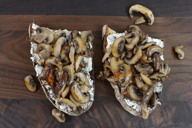 Mushroom & Pepper Toast