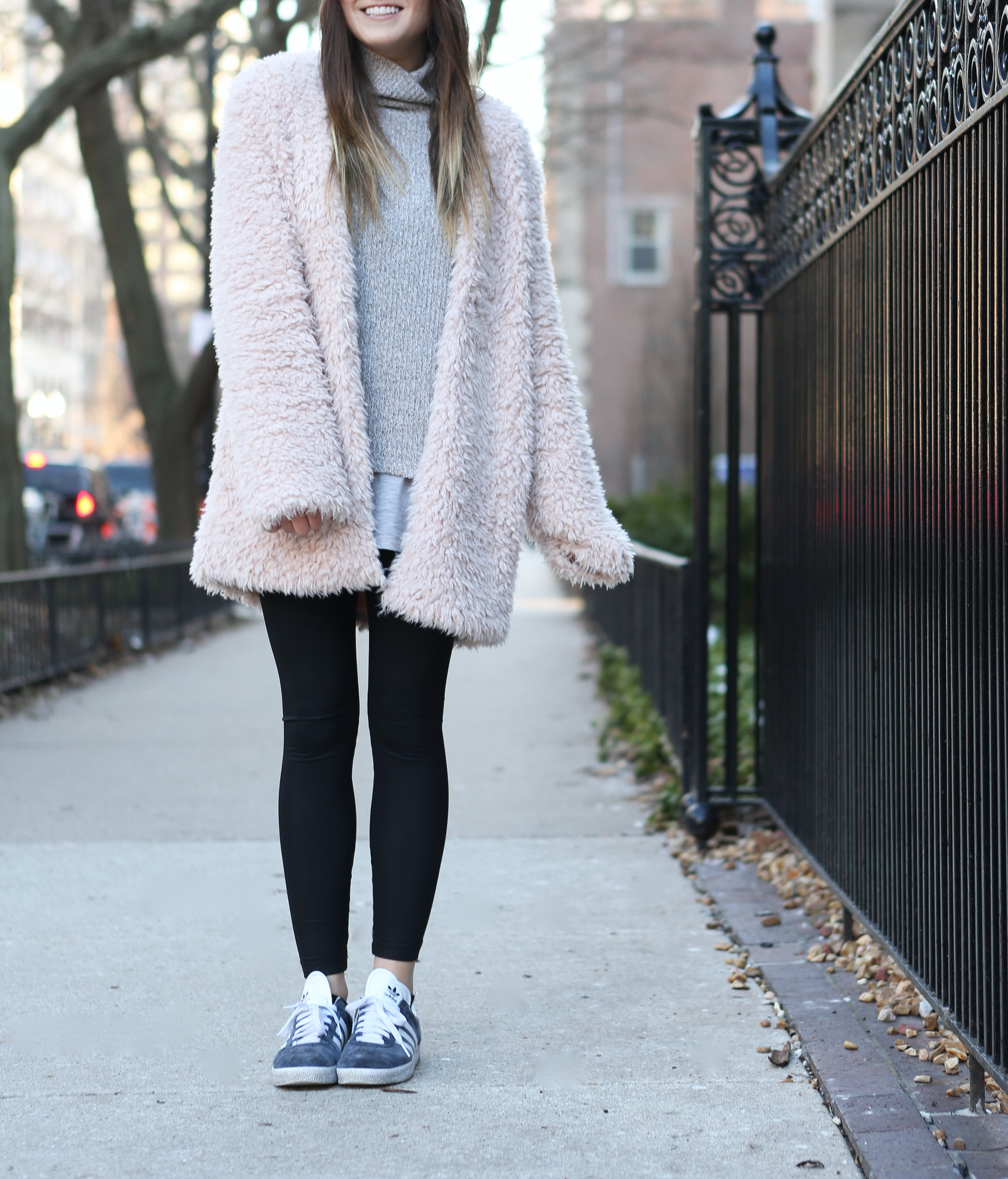 Fuzzy Pink Jacket