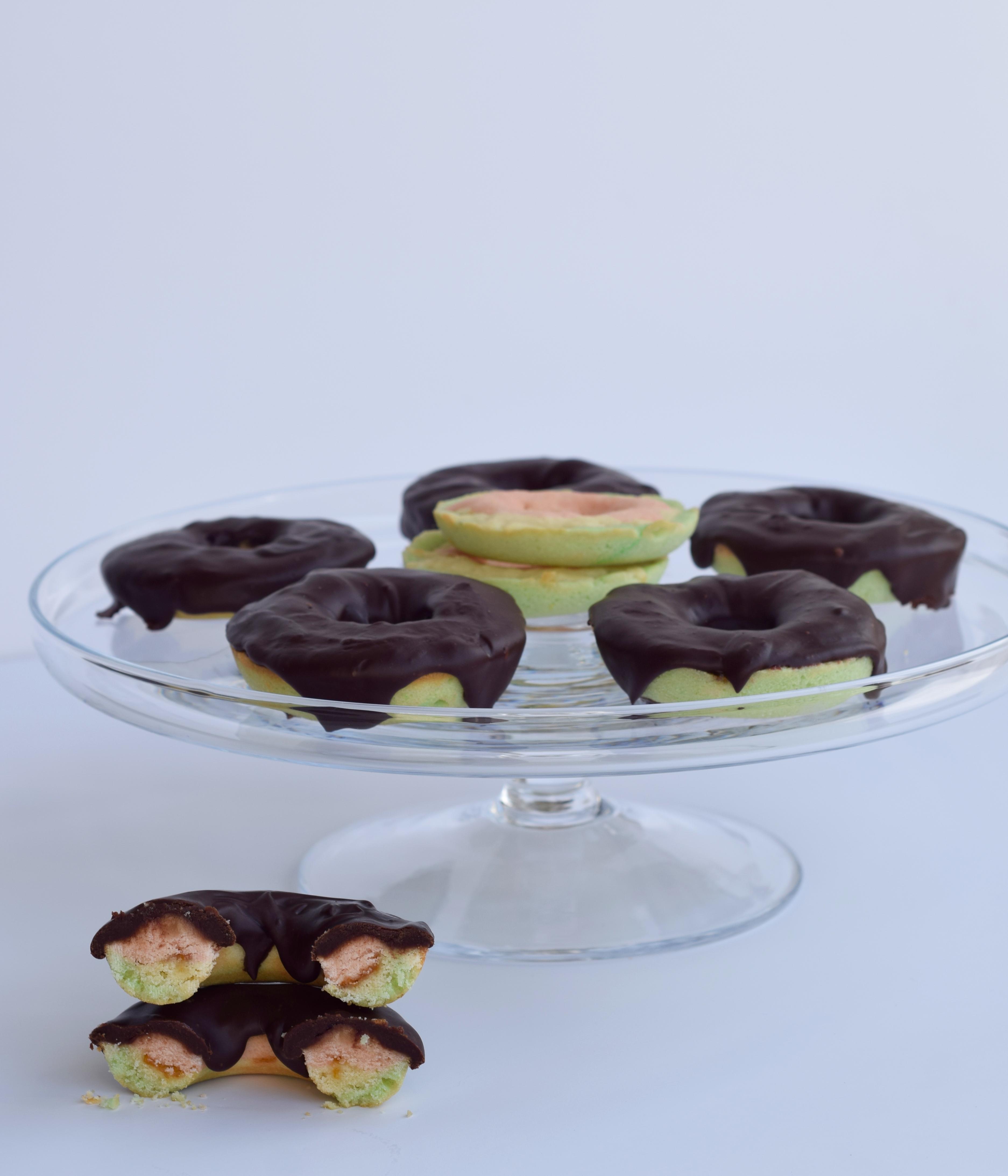 Rainbow Cookie Donuts Recipe