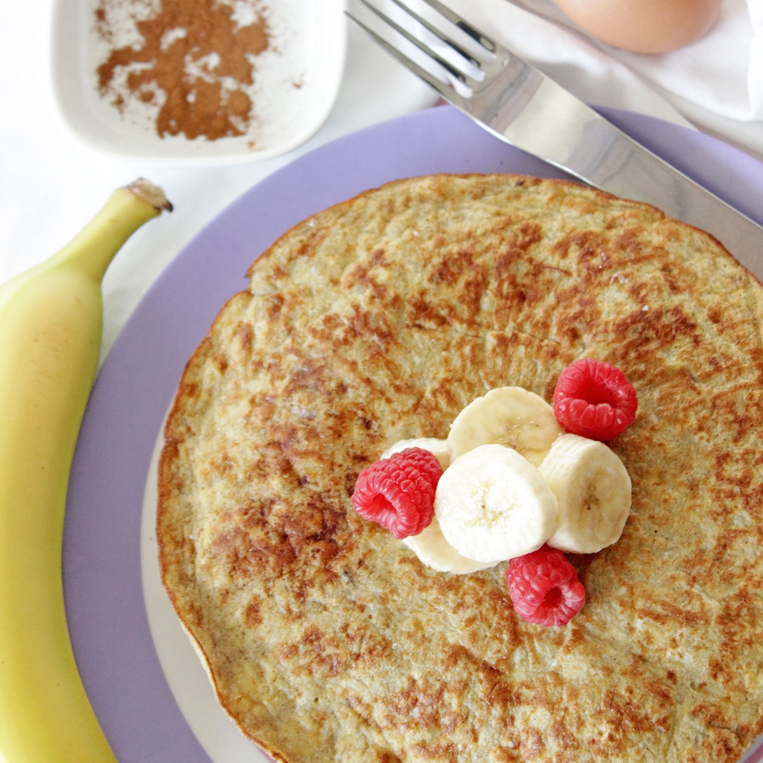 3 Ingredient Pancake Recipe