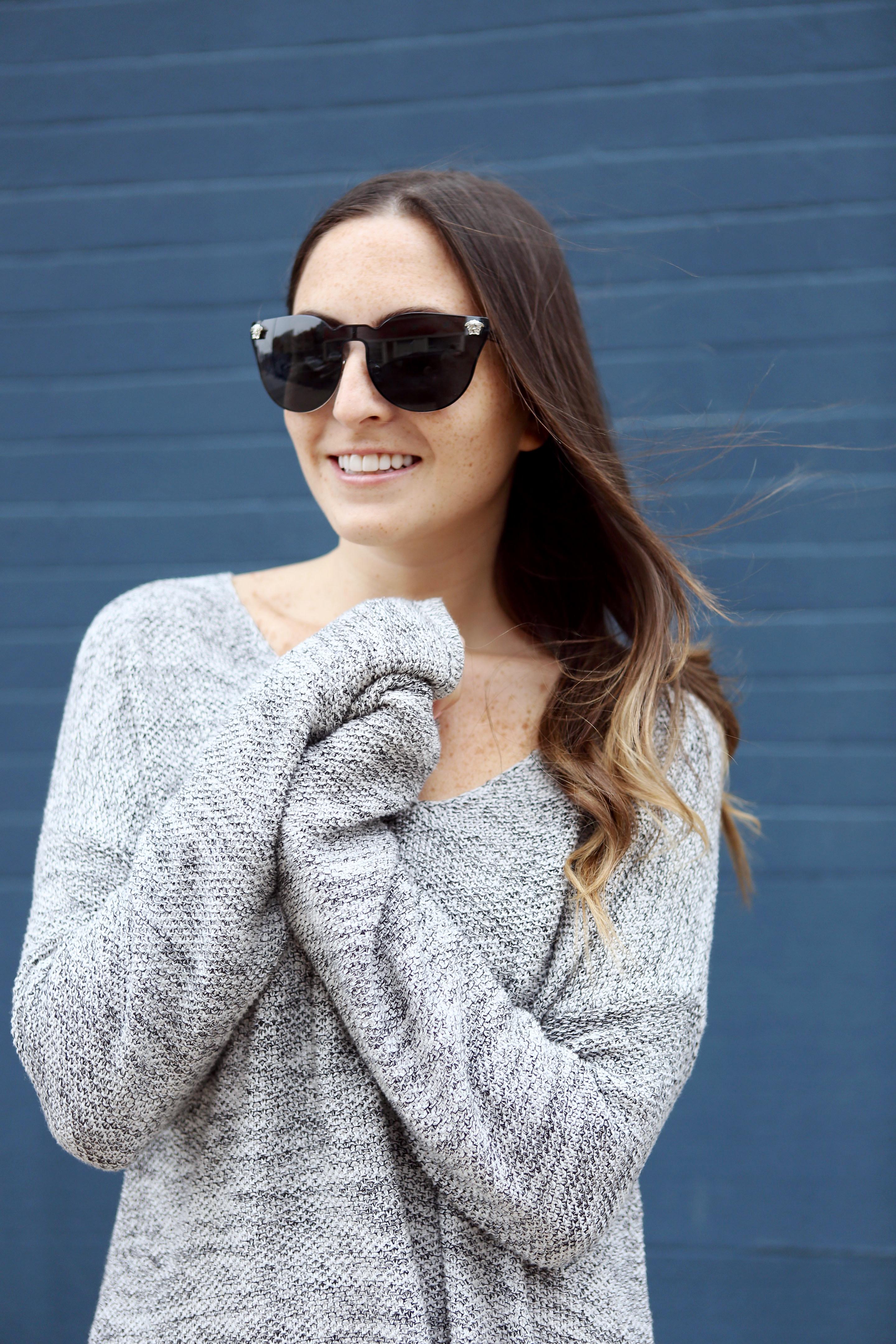 Oversized Sweater Dress Blog