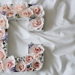DIY Flower Letter Tutorial