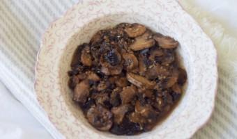 Eating Healthy On A Budget: Teriyaki Mushrooms