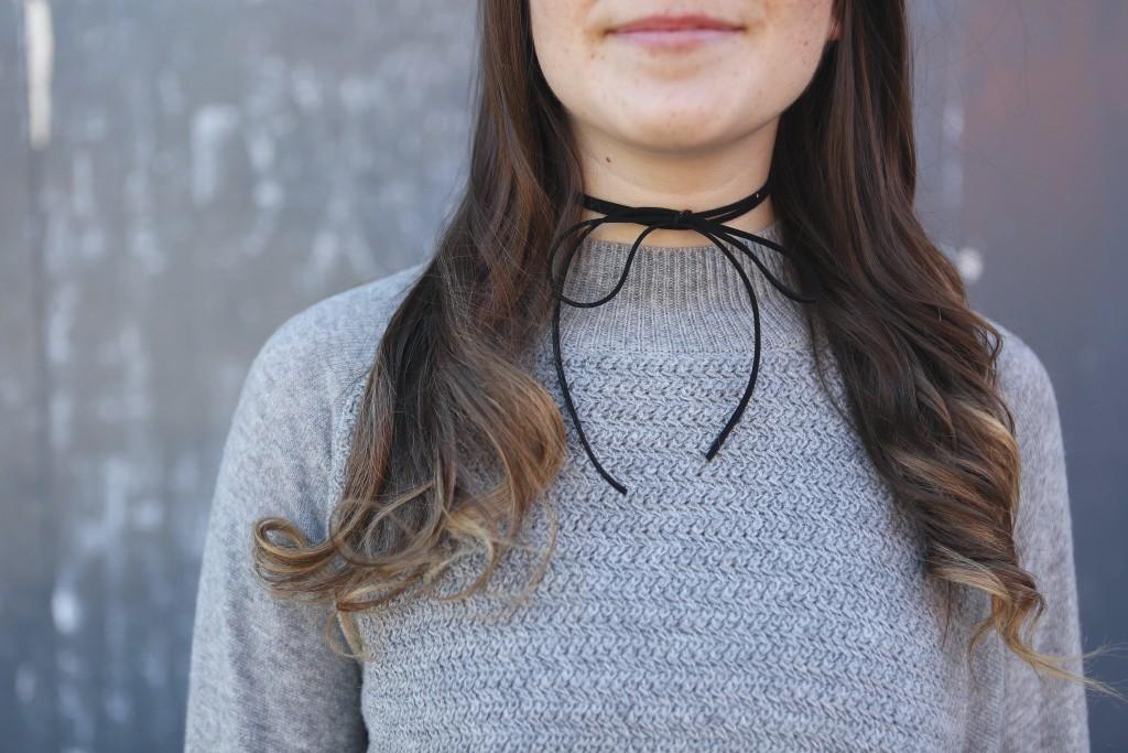 DIY Choker Necklace Tutorial