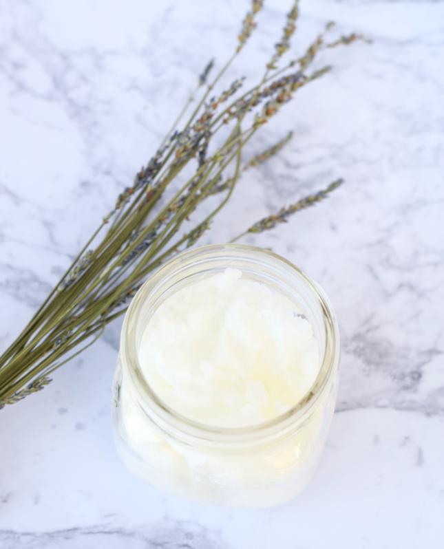 How To Make Lavender Coconut Oil Body Cream