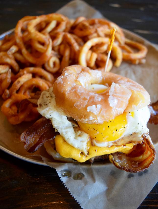 Donut Burger Chicago Restaurant