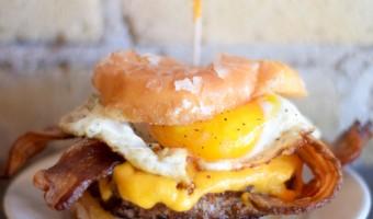 Donut Breakfast Burger