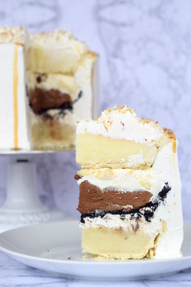 3 Pie Layered Cake Recipe