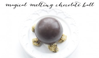 How To Make A Magical Melting Chocolate Ball