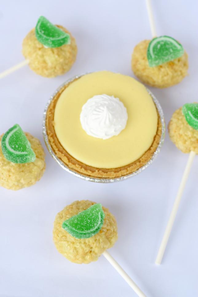 Cait's Crispops Key Lime Pie Flavor