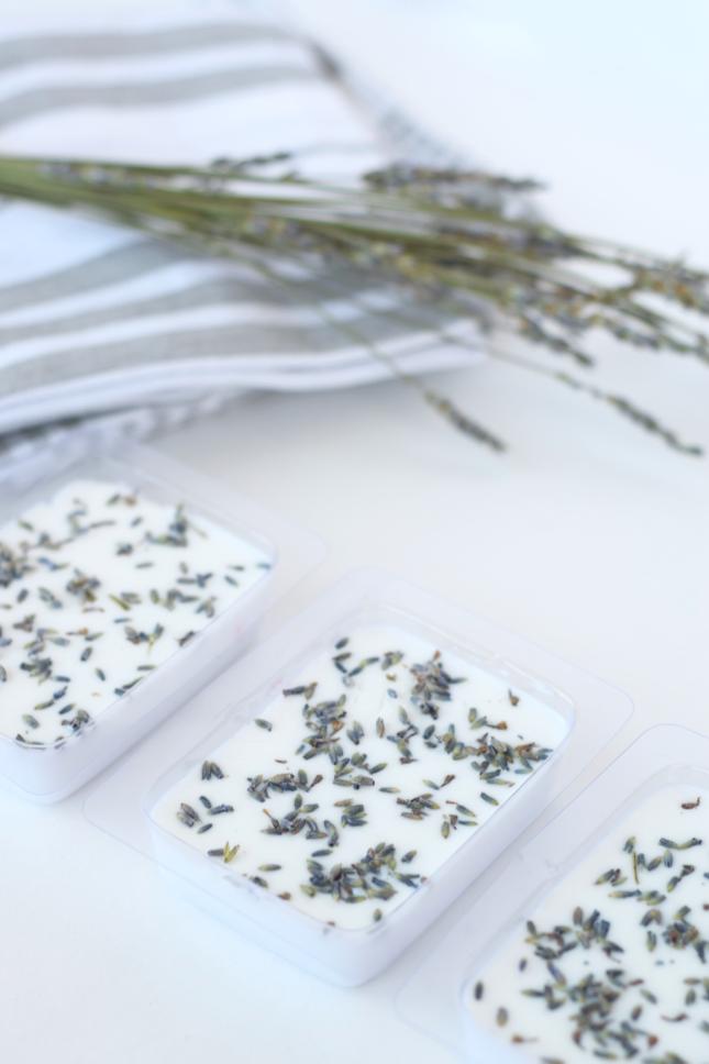 DIY Lavender Soap Bar