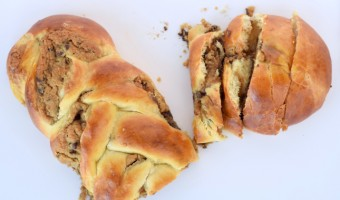 Easy Chocolate Chip Cookie Dough Challah