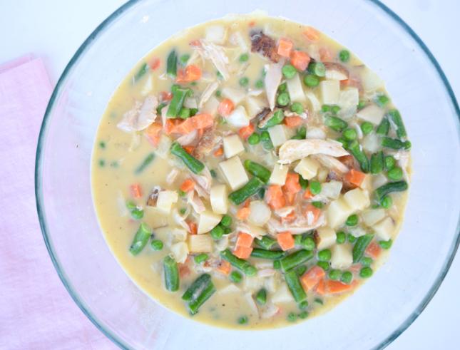 Lauren Conrad Skinny Chicken Pot Pie Recipe