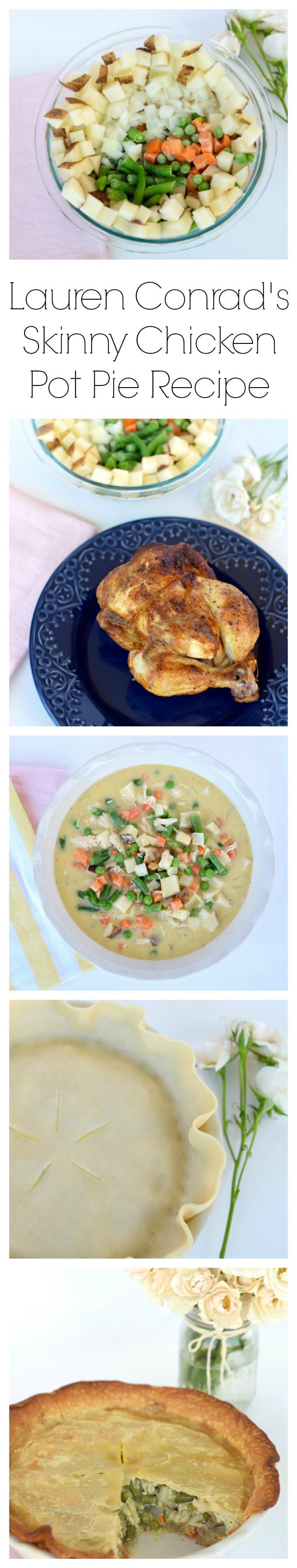 Lauren Conrad's Skinny Chicken Pot Pie Recipe