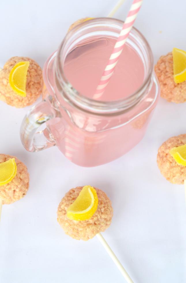 Pink Lemonade Flavored Cait's Crispops