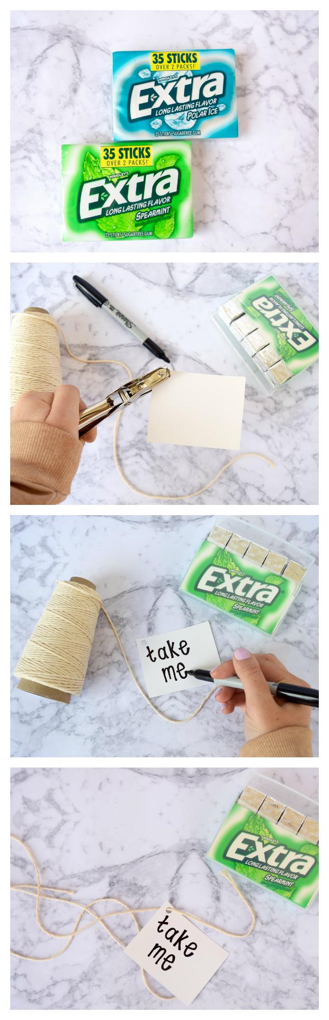 DIY Extra Gum Tutorial