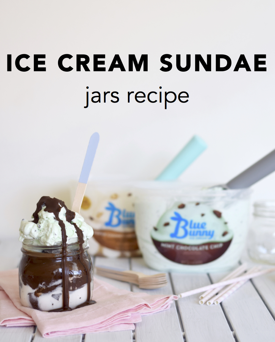 Ice Cream Sundae Jars