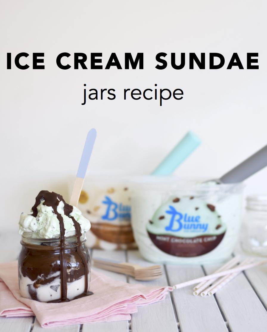 Ice Cream Sundae Jars