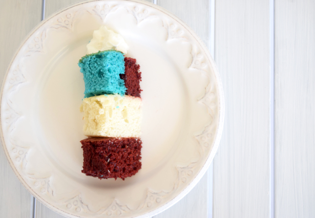 Mini Flag Cake Recipe