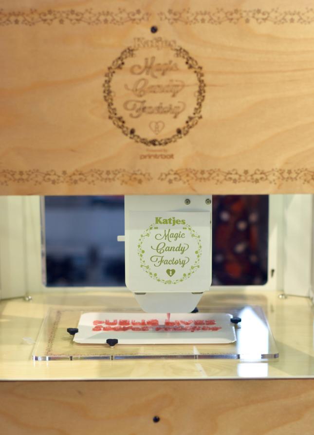 3D Gummy Printer Dylan's Candy Bar