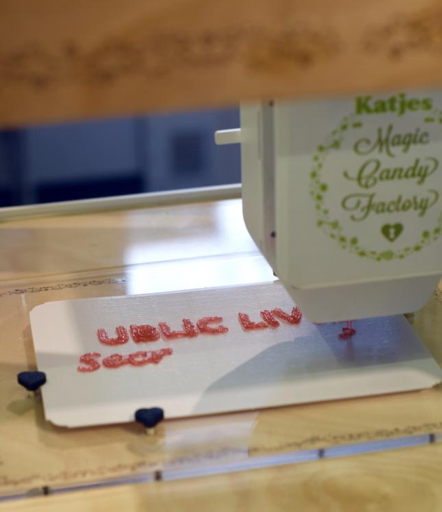 3D Gummy Printer