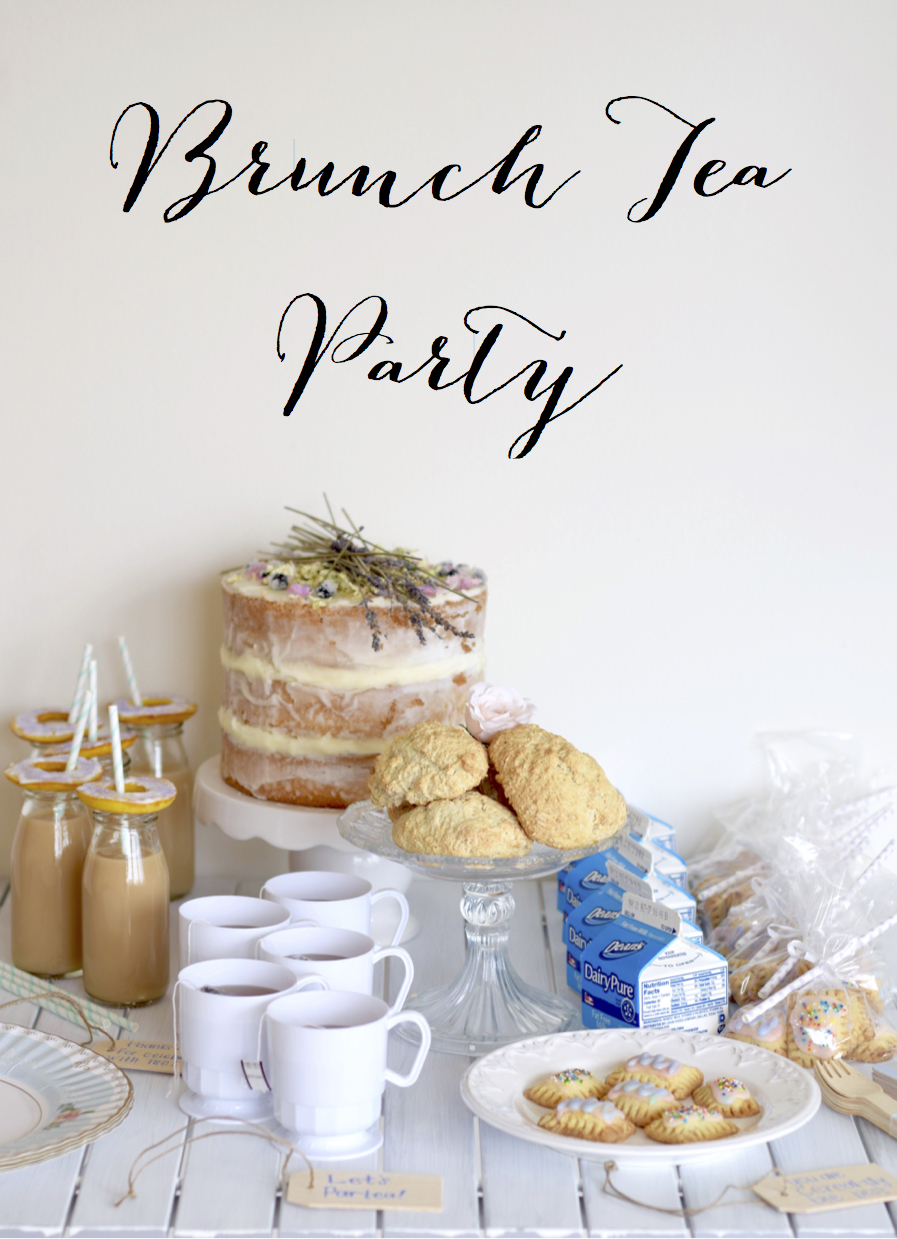 Brunch Tea Party Tutorial