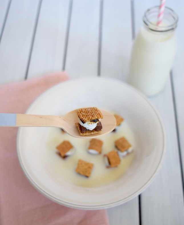 Mini S'mores Cereal Recipe