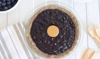 Blueberry Pie Oreo Pie Recipe
