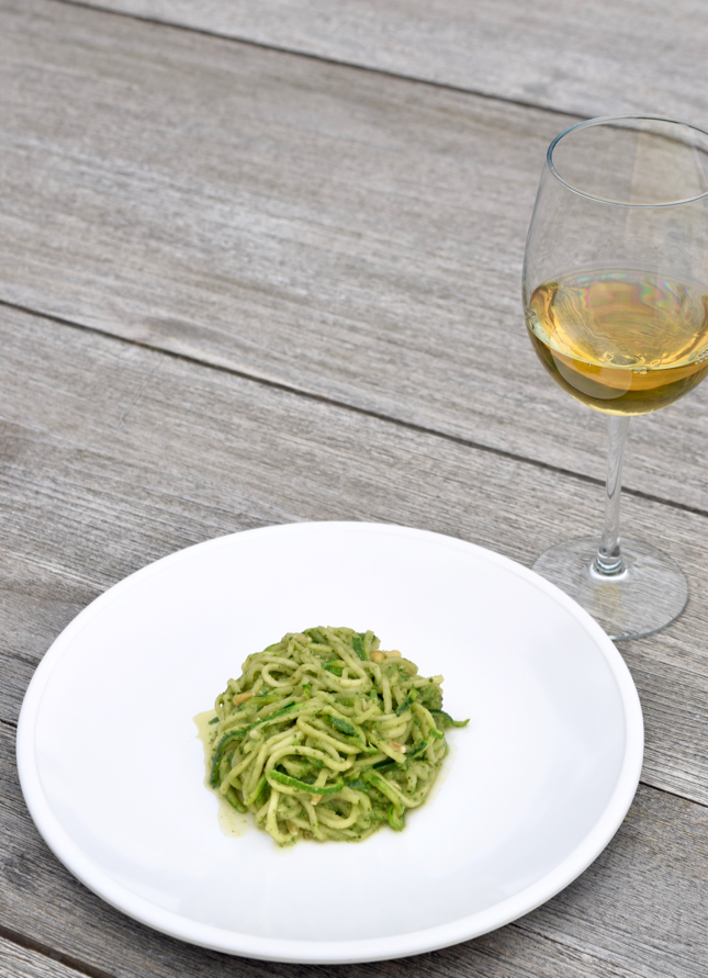 Zoodle Avocado Pesto Recipe