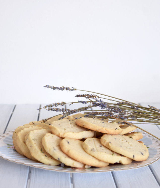honey lavender shortbread cookies recipe