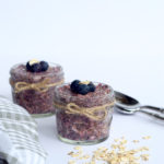 Berry Overnight Oat Chia Seed Pudding Recipe