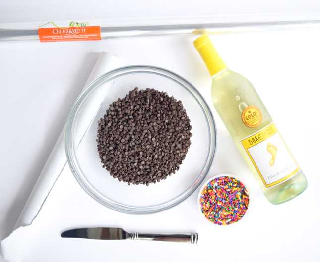 DIY Chocolate Wine