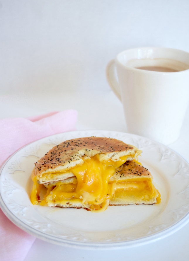 Bagel Grilled Cheese Recipe