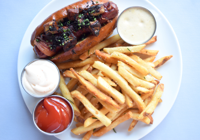 Chicago Fois Gras Hot Dog