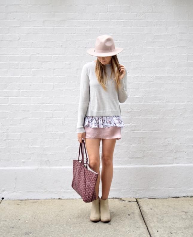 Club Monaco Fashion Blogger