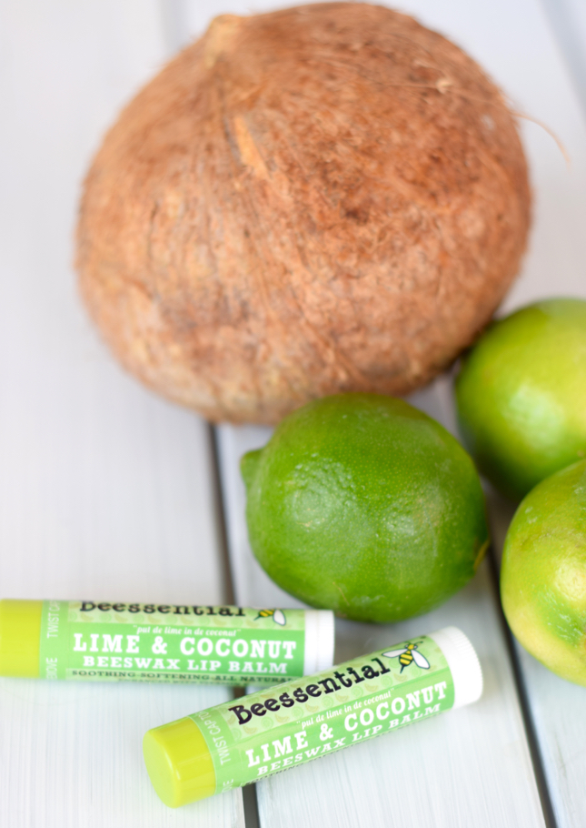Lime And Coconut Lip Balm