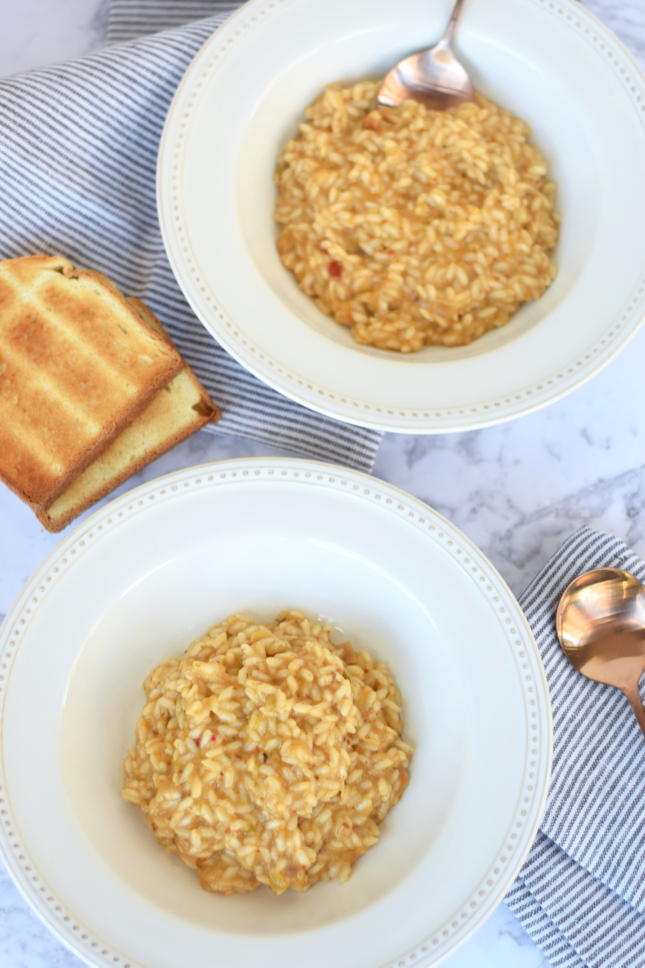 4 Ingredient Lobster Bisque Risotto Recipe