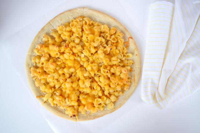Mac & Cheese Pizza Recipe