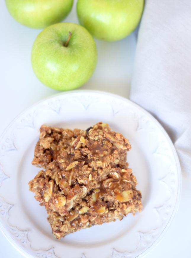caramel apple granola bar recipe