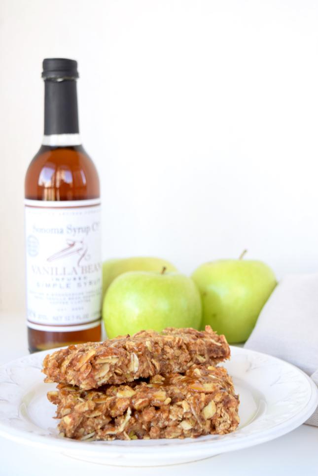 caramel apple granola bars recipe