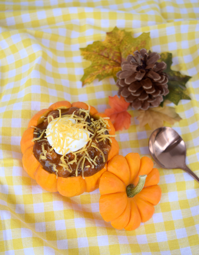 3 Easy Chili Recipes In Mini Pumpkins